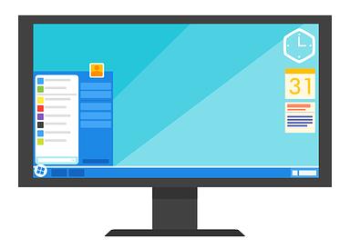 Monitor Illustration image