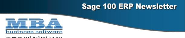 MBA Sage 100 Newsletter Header